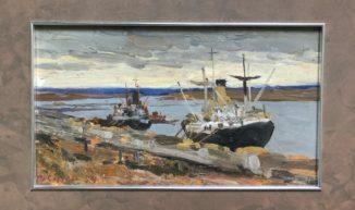 Корабли у пристани