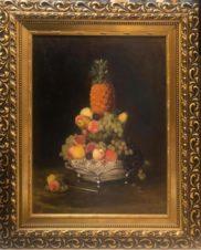 Натюрморт с ананасом. Фрукты