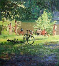 Лето на озере