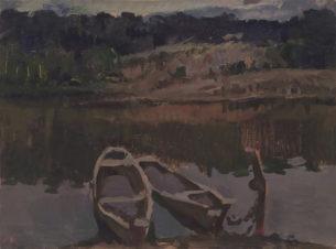Лодки на вечерней воде