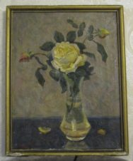 Натюрморт с чайной розой