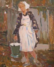 Женщина с вёдрами