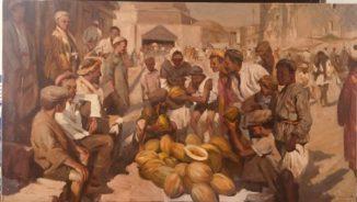 Дынный базар