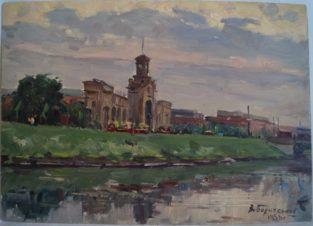 Обводный канал.Витебский вокзал (г.Ленинград)