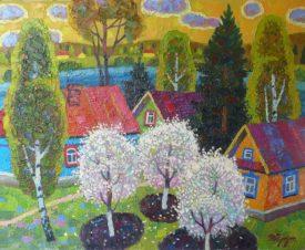Весна в Клишино
