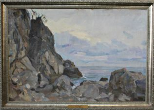 Скалистый берег Крыма