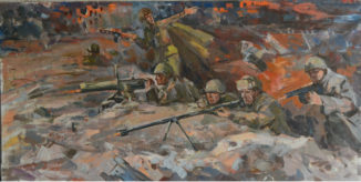 Битва за Сталинград (эскиз)