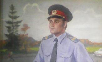 Портрет отличника милиции