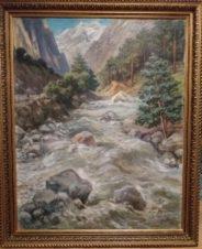 Северный Кавказ. Горная река