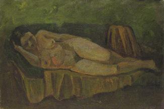 Обнажённая на диване