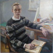 Портрет инженера-строителя «Главленинградстроя» Годырева Ивана Тимофеевича