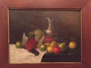 Натюрморт с фруктами и дичью