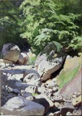 Ручей в каменистом русле