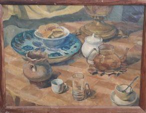 Натюрморт с чашками