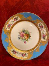 антикварные тарелки 2 шт