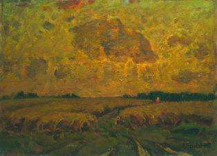 Тропинка в поле