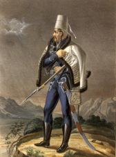 Гусар Слободского полка, с 1756 до 1761 года. Серия «Историческое описание одежды и вооружения российских войск