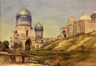 Самарканд. Ансамбль Шахи-Зинда