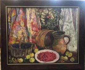 Черника, фрукты и малина
