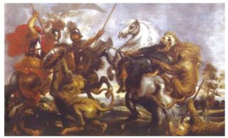 Охота на львов Александра