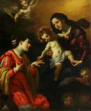 Мистическое обручение святой Екатерины Александрийской