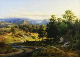 Долина в Южном Тироле