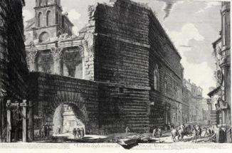 Вид руин форума римского императора Нерва