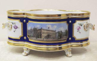 Ваза для фруктов с видом Королевского дворца