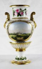 Дворцовая ваза с видами королевского замка Фредериксборг