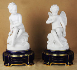 Парные скульптуры «Амур и Психея»