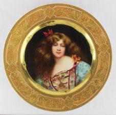 декоративная тарелка «Дездемона»