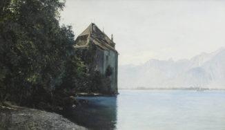 Шильонский замок у озера