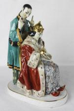 фарфоровая статуэтка «Китайский император»