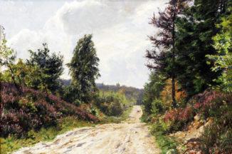 Пейзаж с дорогой