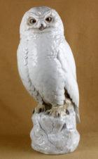 Большая фарфоровая статуэтка «Сова»