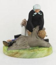 фарфоровая статуэтка «Пьяный мужик»