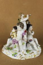 фарфоровая статуэтка «Пять чувств»