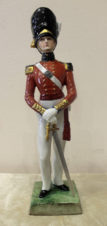 фарфоровая статуэтка «Офицер гвардейского гренадерского полка»