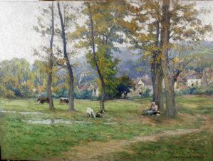 Осенний день в деревне