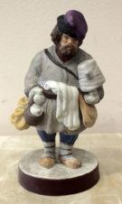 Фарфоровая статуэтка «Сбитенщик»