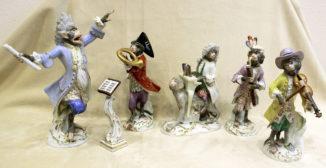 Коллекция из пяти фигурок «Обезьяний оркестр»