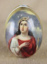 Пасхальное яйцо «Святая великомученица Екатерина»