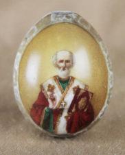Пасхальное яйцо «Святитель Николай Чудотворец»