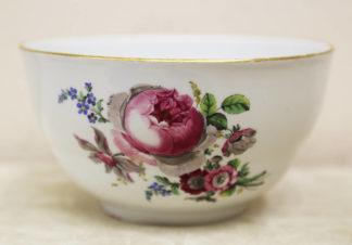 Чаша-полоскательница с изображением цветов
