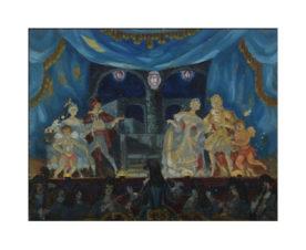 Театральная сцена: финал «Женитьбы Фигаро»