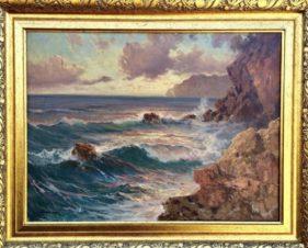 Морской пейзаж. Скалы.