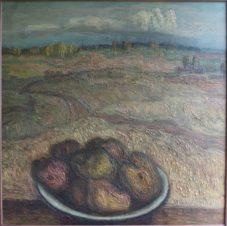 Пейзаж с картошкой