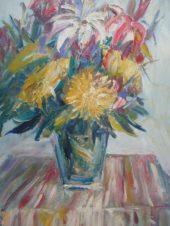 Этюд с цветами
