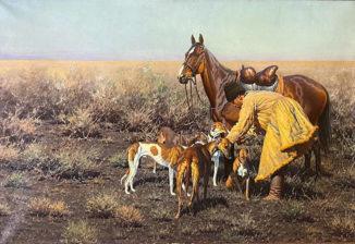 Перед охотой (Охота в Аскания-Нова)