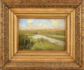 Пейзаж с рекой Истрой